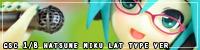 GSC 1/8 Hatsune Miku Lat Type ver